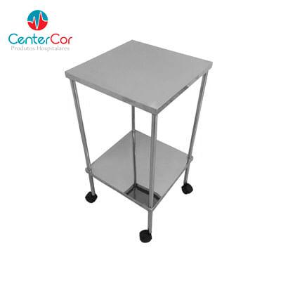 Centercor hospitalar mesa auxiliar especial 40 x 40 x 80 - Mesas auxiliares pequenas ...