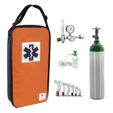 Kit-Oxigenio-Portatil-3L-Aluminio-Bolsa-Azul-e-Laranja-Sem-Carga