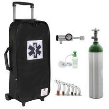 Kit-Oxigenio-3L-Bolsa-Preta-com-Rodinhas-Sem-Carga-Valvula-Click