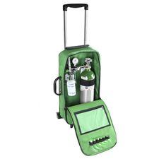 Kit-Oxigenio-Portatil-3-Litros-Bolsa-Verde-com-Rodinhas-Sem-Carga