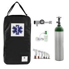 Kit-Oxigenio-3L-Aluminio-com-Bolsa-Preta-Sem-Carga-Valvula-Click