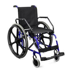 Cadeira-de-Rodas-Ligth-Free-Azul-Metalico