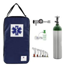 Kit-Oxigenio-3L-Aluminio-com-Bolsa-Marinho-Sem-Carga-Valvula-Click