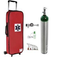 Kit-Oxigenio-5L-Bolsa-Vermelha-com-Rodinhas-Sem-Carga-Valvula-Click