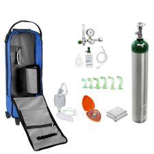 Unidade-de-Emergencia-para-Piscina-com-Cilindro-de-Oxigenio-em-Aluminio-5-Litros-Royal