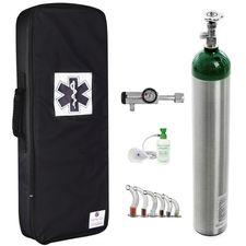 Kit-Oxigenio-5L-Aluminio-com-Bolsa-Preta-Sem-Carga-Valvula-Click