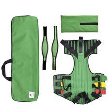 Imobilizador-Dorsal-KED-Adulto-Verde