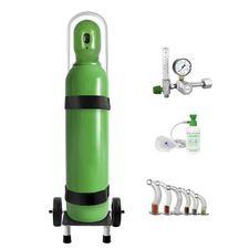 Kit-Oxigenio-Portatil-10-Litros-Aco-com-Carrinho-Sem-Carga