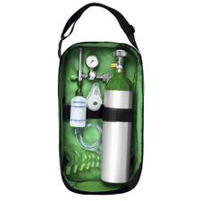 Kit-Oxigenio-Portatil-3-Litros-Aluminio-com-Bolsa-Verde-Sem-Carga