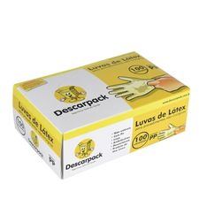 Luva-de-Procedimento-PP-Descarpack-Caixa-com-100-Unidades